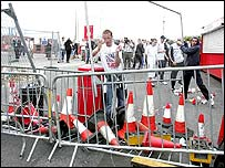 Fans tried to barricade the Glazers inside Old Trafford