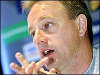 Lions' assistant coach Eddie O'Sullivan