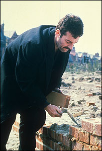 Bernard Hill as Yosser Hughes in The Boys from the Blackstuff