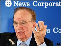 Rupert Murdoch, head of News Corporation
