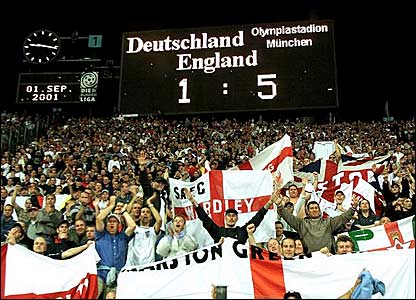 Sven-Goran Eriksson's finest moment as England manager - the 5-1 win over Germany