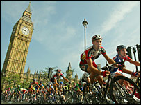 The Tour of Britain went through London last year
