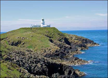 This picture of Strumble Head in Pembrokeshire was sent in by Stuart Wilson from Jersey