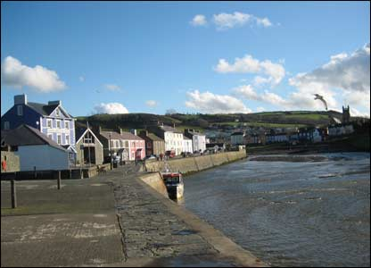 Dave Bodger took this shot while on walk around Aberaeron