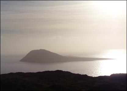A view of Ynys Enlli off the coast of the Lleyn peninsula (Aled Evans, Caernarfon)