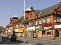 Birtley town centre