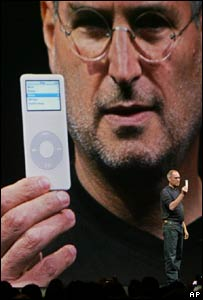 Apple and Pixar boss Steve Jobs