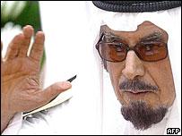 Kuwait's former emir, Sheikh Jaber