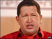 President Chavez has warned that the US may try to assassinate him