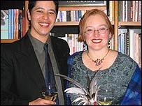 Laura Thomas, right, and Kanani Kauka