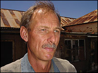 White farmer Louis Meintjies