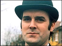 John Cleese playing civil servant in Monty Python