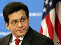 US Attorney-General Alberto Gonzales