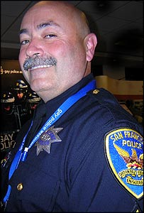 Sergeant Chuck Limbert, San Francisco district, USA