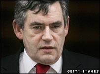 UK Chancellor Gordon Brown