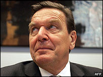 German Chancellor Gerhard Schroeder