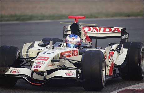 Honda, equipe histórica de Formula 1 de 2006 - by news.bbc.co.uk