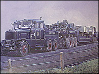 An AEC Mammoth Major truck from the 1950s - picture: Roadscapes
