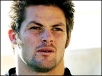 All Blacks flanker Richie McCaw is one of the world's leading players