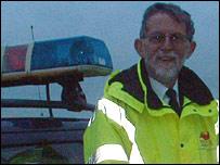 Morecambe coastguard Eric Greenough