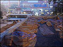 Delhi homeless