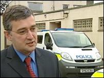 Detective Inspector Gordon Greenlees