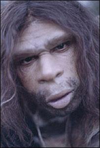 Representación del Neandertal en la BBC
