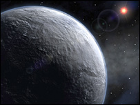 An artist's impression of the new planet (ESO)