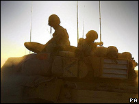 The Household Cavalry Regiment in southern Iraq