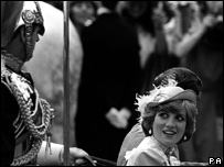 Andrew Parker Bowles commanded the mounted soldiers for Charles and Diana's wedding