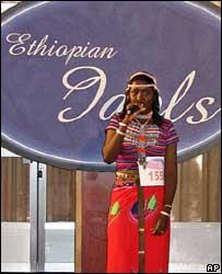 Ethiopian Idols contestant