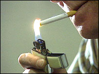 The minister outlined his views on a smoking ban
