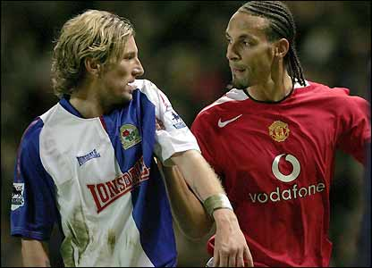 Robbie Savage and Rio Ferdinand