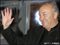 George Galloway leaving the Big Brother house