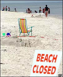The beach at Florida's Cape San Blas was closed after a 16-year-old boy was attacked by a shark