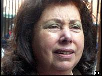 Lucia Pinochet (file picture, 2005)