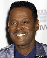 Luther Vandross at the First Annual BET Awards in June 2001 in Las Vegas