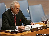 Iraq's ambassador to the UN, Samir Sumaidaie