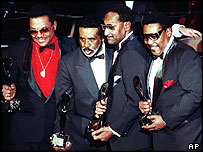 The Four Tops original line-up, photographed in 1990