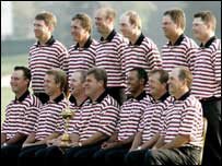 The US Ryder Cup team of 2004