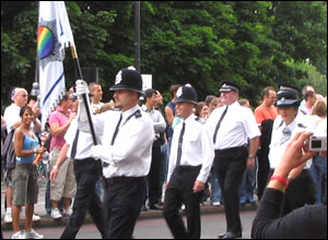 Officers from Gay Police Association