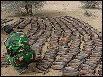 Unexploded ordnance in Eritrea