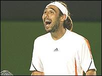 Marcos Baghdatis of Cyprus