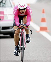 T-Mobile rider Alexandre Vinokourov