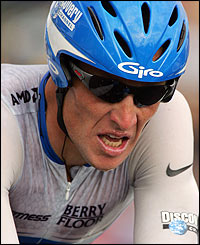 Six-time Tour winner Lance Armstrong