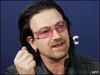 Bono at the WEF