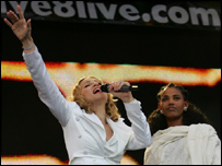 Madonna at Hyde Park