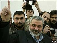 Hamas official Ismail Haniya