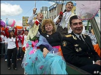 Kaliningrad celebrations