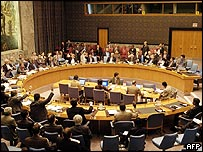 The UN Security Council. File photo